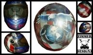 Custom helmet for a Marine - My Designs