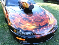 Wizard Airbrush Graphics dot com - Kustom Airbrush