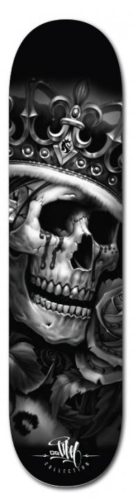 Skateboard airbrush skull - Airbrush Artwoks