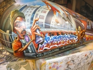 Flickriver: Most interesting photos from Plainville, Connecticut, United States - Airbrush Murales