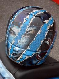 First Helmet ever painted... - Helmet