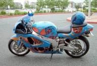 First bike I ever painted - Airbrush Artwoks