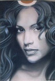 Serratos Art: T-shirt Art - Kustom Airbrush