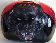 Accessoires motos custom ¤ Raymond PLANCHAT ¤ Artiste peintre ¤ Aérographe ¤ Peinture ¤ Tableaux ¤ Déco - Kustom Airbrush