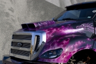 Paint and Custom Airbrushing - After FX Customs - Tuning Cars Airbrush