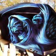 DeathAngel kandymankustompaint.com - Airbrush Artwoks