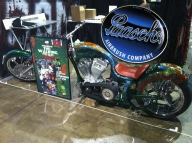 Walking Dead chopper at C2E2 convention - My Airbrush Art