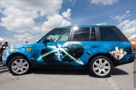 Range Rover airbrushed - Airbrush Artwoks