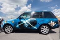 Range Rover airbrushed - Airbrush Artwoks