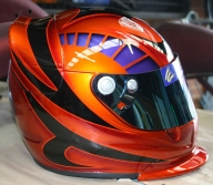 Airbrushed Helmet - Graphics!! - Airbrushforum - Airbrush Artwoks
