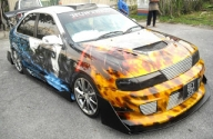 Vatos Airbrush Studio - Tuning Cars Airbrush