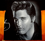 Elvis on Tshirt - Photorealism