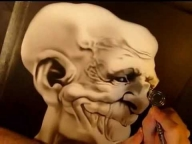 Airbrush goblin speed video - Airbrush Videos