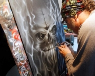 Airbrush artistry: His canvas is all around - This Is My Life