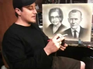 How to airbrush portraits, with Jaime Rodriguez - Respect - Fotorealismo