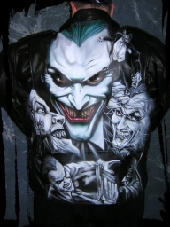 Joker jacket - Airbrush Artwoks