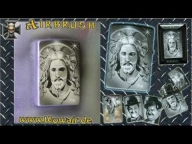 Zippo Jesus  Step by step - YouTube - Airbrush Videos