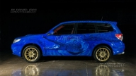 airbrush on the Subaru Forester Ts - Airbrush ILNUR RU