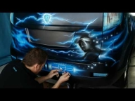 ▶ Clarion Malaysia showcar - Legends Live On - WOW! - Airbrush Videos