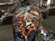 Cool Airbrush Jobs From Motorcycle Show NYC - Favorite Art