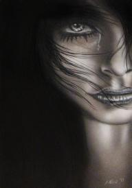 Sad Girl (40x60cm) - myStuff
