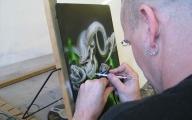 Cross-Eyed Airbrush - Airbrush Artwoks
