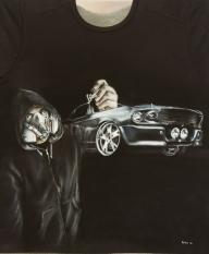 Airbrushed T-Shirt - Airbrush Artwoks