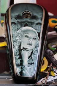 Furious #Airbrush #RSS Feeds | The Art of Ryan Townsend - Airbrush Artwoks