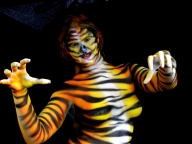 Bodypainting Tiger  - Airbrush Bodypaintings