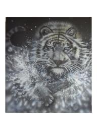 blackandwhite - White Tiger by Julia Tapp - Airbrush Artwoks