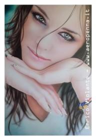 airbrush model portrait - Airbrush Artwoks