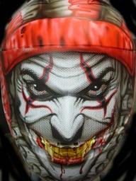 Helmet artwork - Airbrush Artwoks