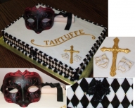 Tartuffe... another theatre cake — Other Cakes - Airbrush on Foods