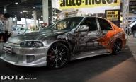 Honda Civic - DOTZ Leichtmetallräder - Airbrush Artwoks