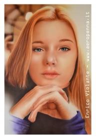airbrush on paper, 40x60 cm. - Airbrush Artwoks