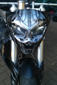 Megatron headlight mask by linkerart - Kustom Airbrush