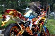 Kawasaki-ER-6F  - Top Airbrush Artwork on the Web