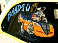 Airbrushed Murals and Graphics-Cars-Trucks - Airbrush Artwoks