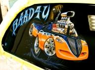 Airbrushed Murals and Graphics-Cars-Trucks - Airbrush Artwoks