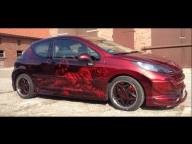 Airbrush/ Candyeffektlackierung | DS Lackiertechnik - Tuning Cars Airbrush