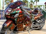 2012 Rat's Hole 40th Custom Bike Show Daytona - Motorcycle USA - Kustom Airbrush