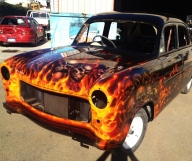 Cars With Flames - Tuning Cars Airbrush
