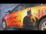 Video Custom Painting - Car Demo - Using Auto-Air / Createx Paints - Airbrush Videos