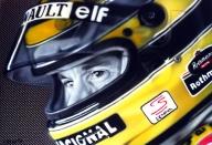 Ayrton Senna by Tom Ryczkowski - Ayrton Senna Painting - Favorite Art