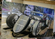 Rat Rod Coupe- almost done - Kustom Airbrush