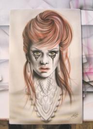 25 x 40 cm on MDF board - Favorite Art