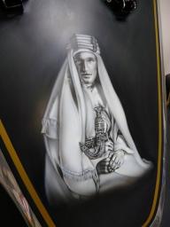 Lawrence of Arabia - Brough Superior Replica - Airbrush Artwoks