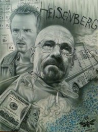 Breaking Bad Airbrush Canvas by maffikus - Favorite Art