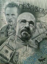 Breaking Bad Airbrush Canvas by maffikus - Favorite Art