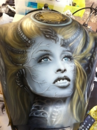 Gallery - Silverbird: custom airbrush art and designs - Airbrush Artwoks